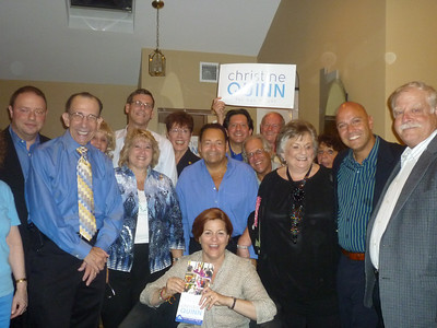 Christine Quinn Greet & Meet 8-18-13