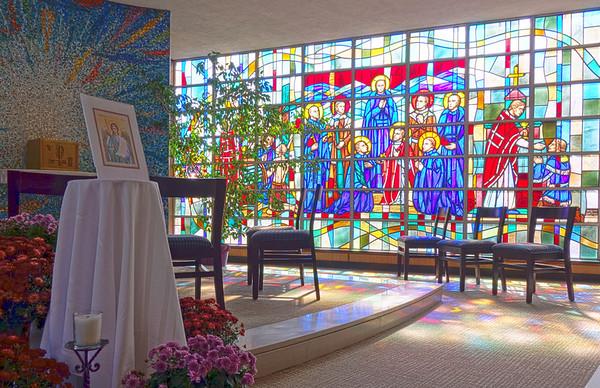 2013 var. - Alum Martelle, NEASC visit, Chapel dedication