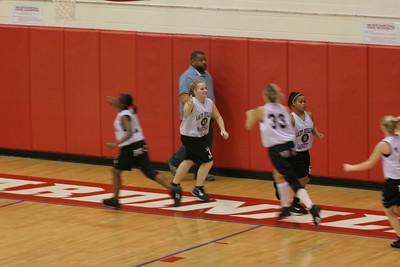 Dunbar Basketball 2007-2008