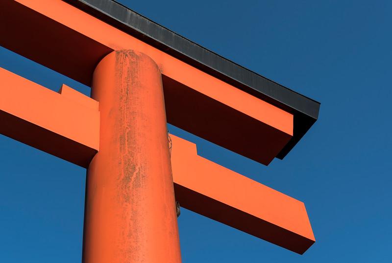 Torii gate of Yasaka Shrine
