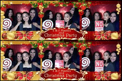 E & F Plastics Christmas Party 2018