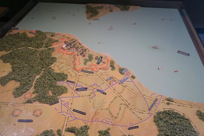 Yorktown Battlefield Map