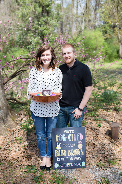 Baby Brown Announcement