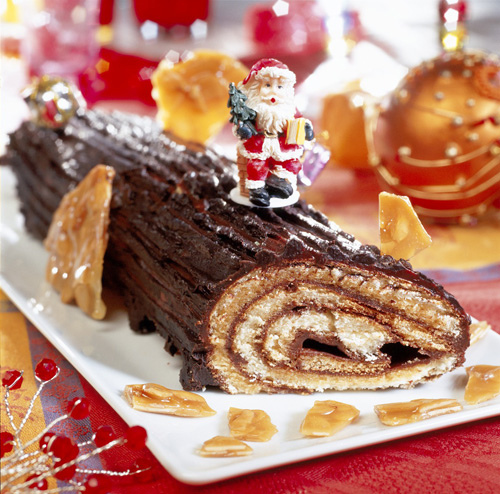 làm bánh ngọt giáng sinh 1