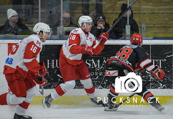 Hockeytvåan Södra: Grästorp IK - Mölndal Hockey 2019-11-24