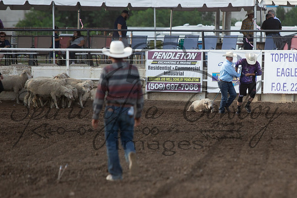 Grand Entry, Candids, Specialty Acts, Mutton Bustin'