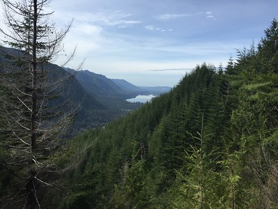 Klone Lakes hike, located above Lake Wynoochee, Washington, June 2016