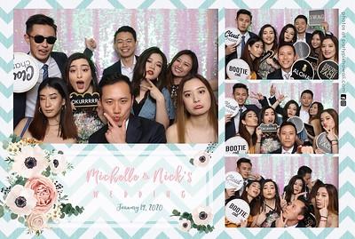 Nick & Michelle's Wedding (Mini LED Photo Booth)