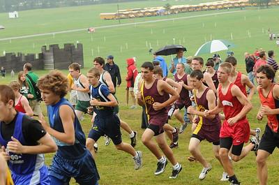 Boys AA Varsity Race