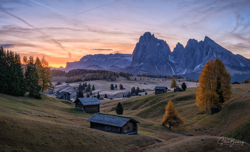 First Light at Alpe de Siusi IV