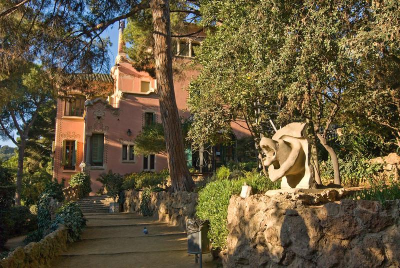 Gaudi's house in Park Güell. (Dec 14, 2007, 10:02am)