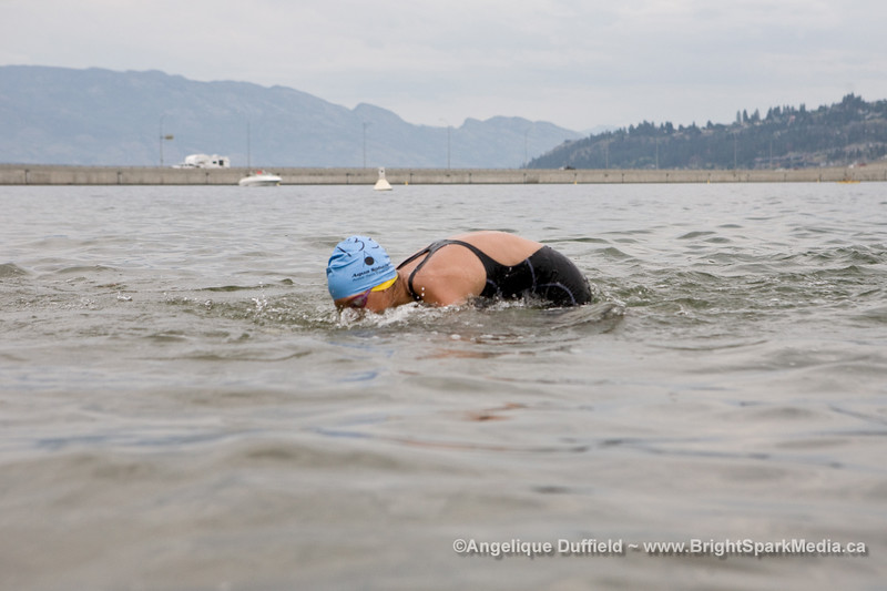 64th Across the Lake Swim in Kelowna, BC
