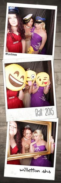 Willetton SHS Ball 2015 Photostrips