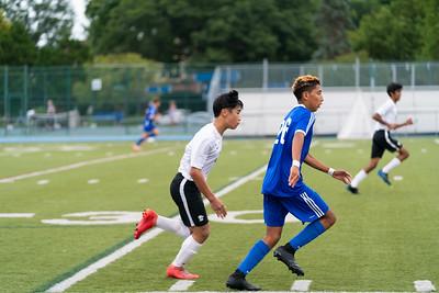 Boys JV Soccer vs Academy