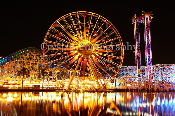 California Adventure at Night
