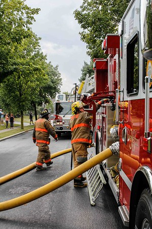 Lower Macungie Dwelling Fire 7-18-16
