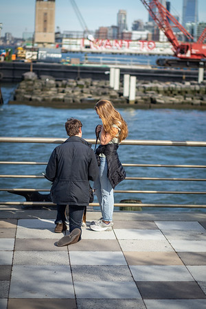 Justin Beautiful Tribeca Proposal