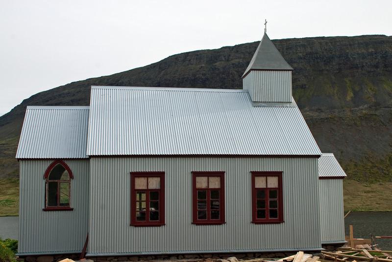 Aðalvík - Staður. Staðarkirkja. 2010.