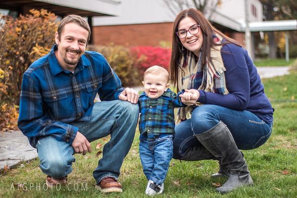 Adorable Austin & his parents