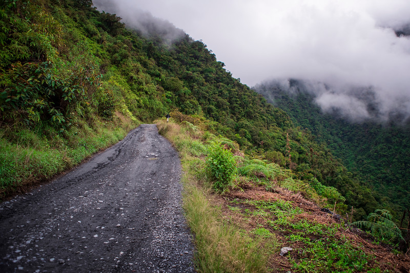 The only road into Cosnipata Valley and the Manu cloud forests