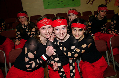 BBA JV Dance Teams at Eagle's Nest Competition Photos by Gary Baker