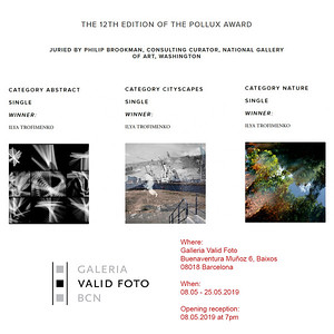 30.04.2019 - Exhibition of the 12th Pollux Awards