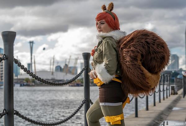 Angela as Squirrel Girl - MCM London Comic Con - 28th October 2018