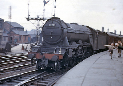 60056 - 60063 Built 1925 Doncaster (Built as A1 rebuilt as A3)