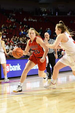 Varsity Girls Basketball vs Crete-State