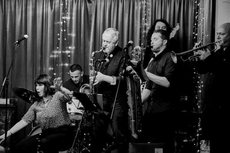 The Red Stripe Band at Rochdale Jazz Club