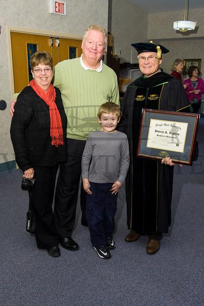 14966 President Hopkins presenting Honorary Diploma Beverly Lightcap 12-23-14