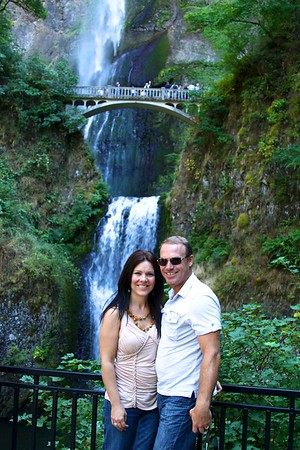 Paul and Deb in PDX Aug 2012