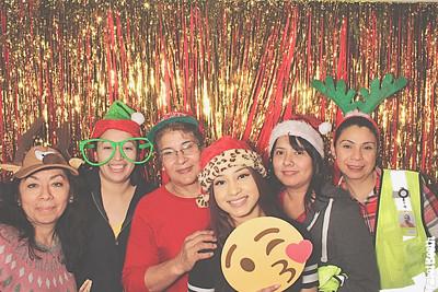 12-21-18 Atlanta McDonough Photo Booth - S&S Christmas Party - Robot Booth