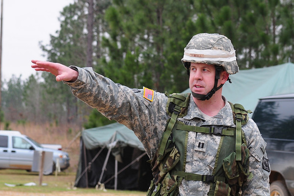184th ESC Pistol Range - March 7, 2008