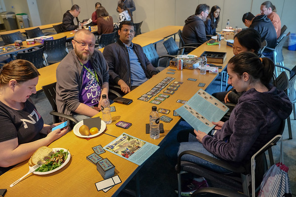 Lunch and Board Games at EARS