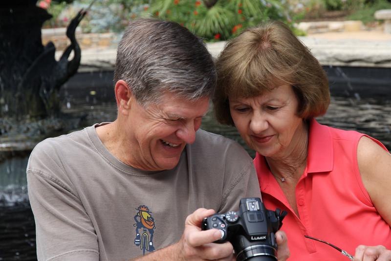 Susan & Butch at Duke Gardens 2013