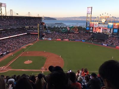 SF Giants Game 7-15