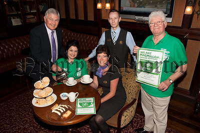 Gabby Curran is pictured with Micheal Magill, Naomi Ferris, Louise Young (Canal Court) and Gerard Yound (General manager Canal Court). R1539028