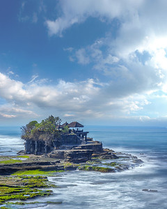 "The temple ""Tanah Lot"" on the island of Bali"