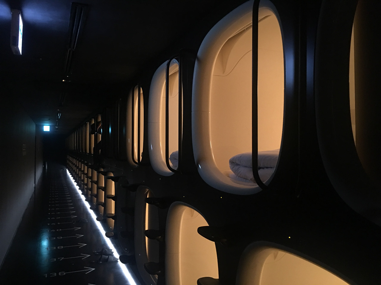 What is it Like to Sleep in a Capsule Hotel?