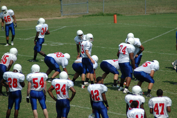 PG Football at Louisburg College