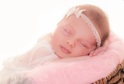 Newborn girls