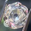 2.04ct Octagonal Flat Cut Diamond GIA K SI1 0