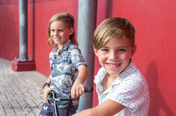 Kai and Shea