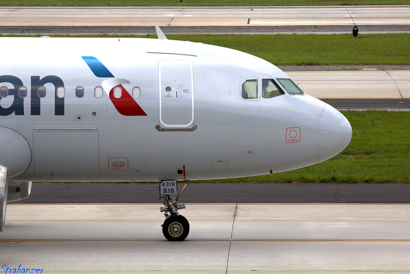 Airbus A319-132  s/n 1375 N818AW American Operating AA1742 to KCLT (Charlotte/Douglas Intnl) Hartsfield-Jackson Atlanta, GA,    05/26/2018 This work is licensed under a Creative Commons Attribution- NonCommercial 4.0 International License