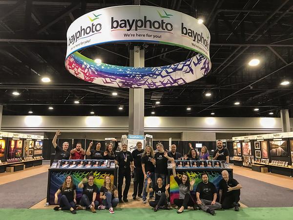 Bay Photo Lab IUSA Booth 2019