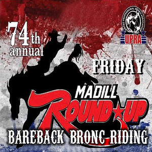 Friday Night Bareback Bronc Riding