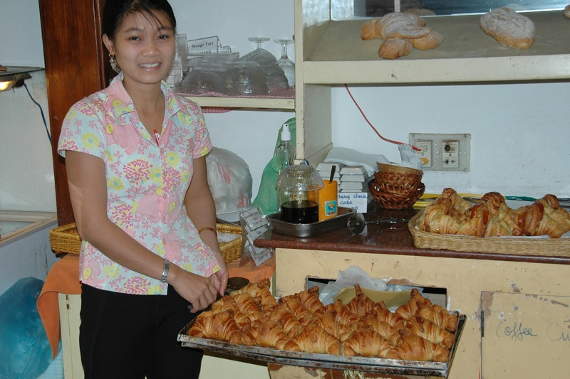 Hot Croissants - Hoi An, Vietnam