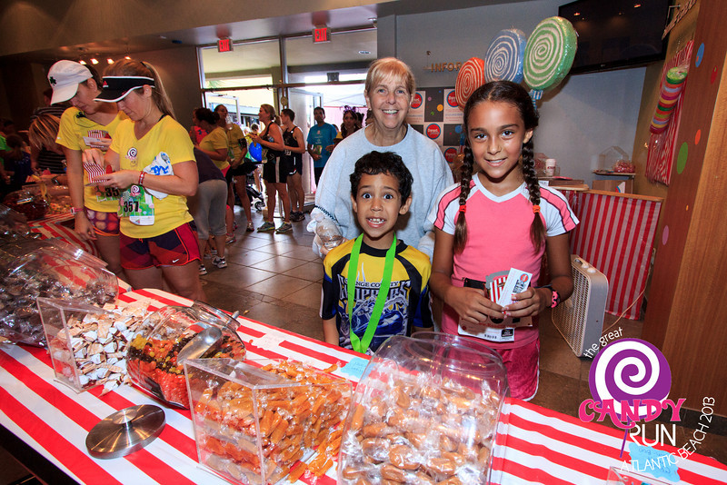 The Great Candy Run 2013.  Photograph: James Vernacotola