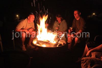 Campfire at The Hammond's - April 18, 208